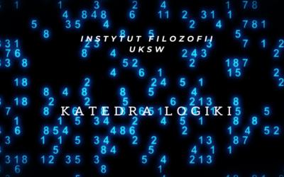 Uniwersalia, predykacje, modalności. Zastosowania logiki do filozofii (podstawowe problemy filozofii 30 h wykładu + 15 h ćwiczeń)